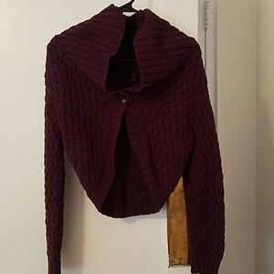 Express Sweater Knit Cropped Cardigan